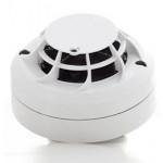 Multi-sensor Combined Optical Smoke Sensor and Thermal Sensor c/w Isolator (white)