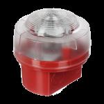 VAD-Red Base-White Flash & IP65 Base