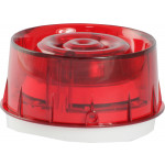 Wall Sounder VID - Addressable, loop powered, red lens, with isolator