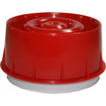 Wall Sounder - addressable, loop powered, RED, with isolator