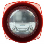 S3 Red Body Sounder Standard Power White VAD